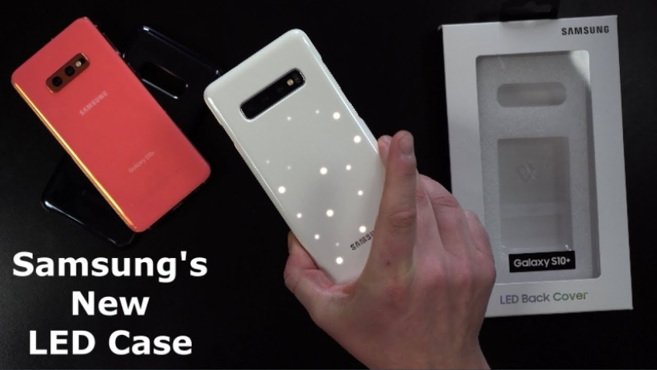 new style 22de7 4d062 Samsung LED Back Cover REVIEW - Galaxy S10 Series
