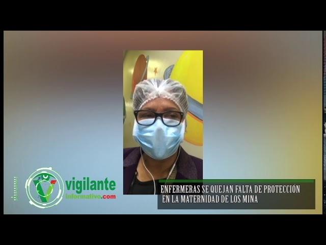 Enfermeras se quejan falta de protección en la Maternidad de Los Mina
