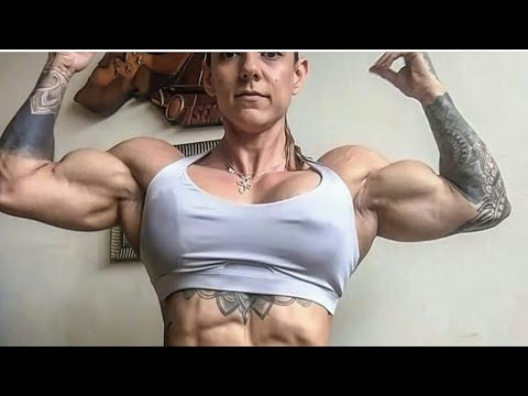 ifbb pro female  bodybuilding gym workout hulda lopez