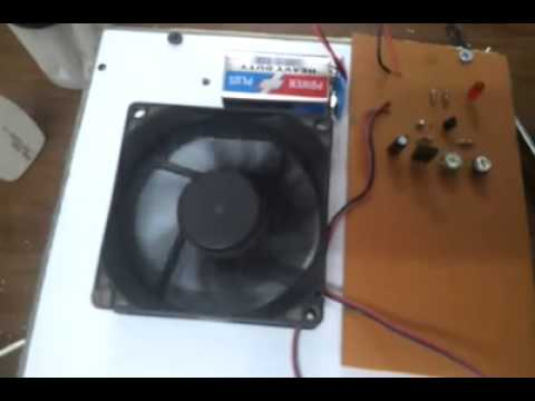 Automatic Temperature Controlled Fan Circuit Working Video Youtube