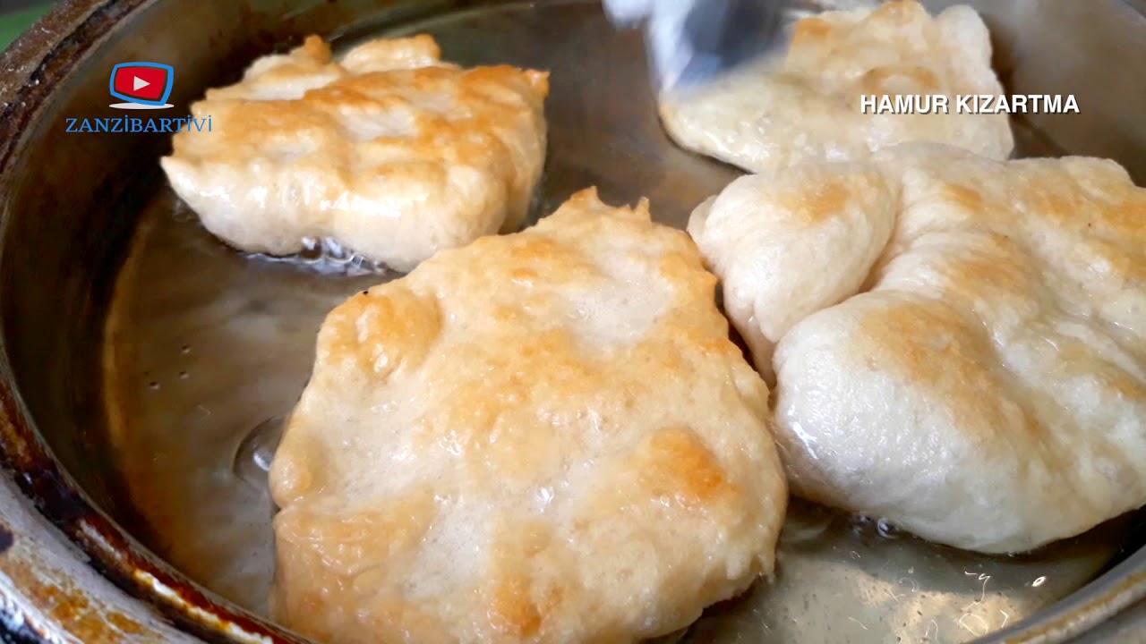 Peynirli Patatesli Hamur Kızartması