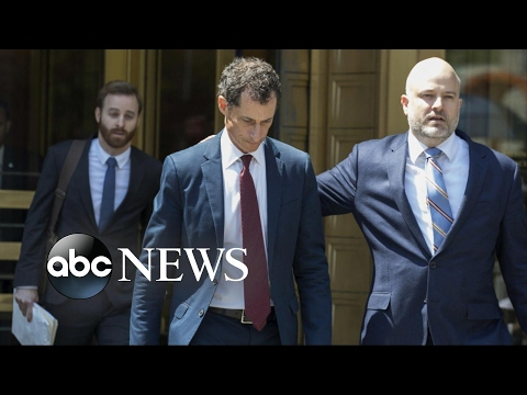 Anthony Weiner pleads guilty to federal obscenity charge