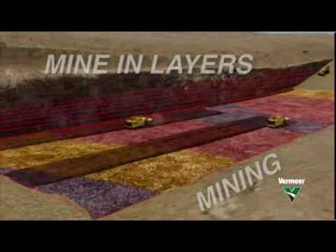 Surface Mining Animation
