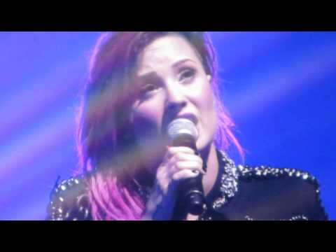 Nightingale - Demi Lovato Nassau Coliseum 3-11-14