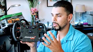 Fanatec Mclaren GT3 Wheel Full Review and Install!