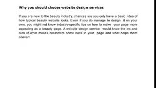 Why You Need a Retail Website Design Company