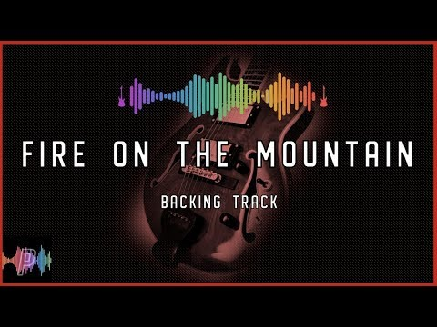 Grateful Dead Fire on the Mountain Guitar Backing Track Jam in B Mixolydian