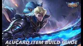 Alucard best build/ Tips and Tricks/ Farming Pattern/ Level up fast