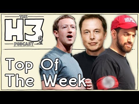 H3 Podcast #21 - Was Joey Salads at the Rally? & Elon vs. Zuckerberg (Top Of The Week)