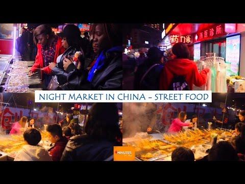 NIGHT MARKET CHINA- STREET FOOD   SHENYANG CITY   LIAONING PROVINCE #LiNC