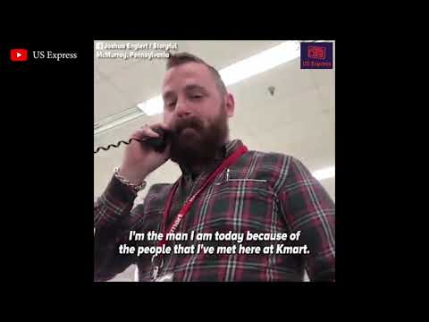 Kmart manager delivers an emotional goodbye, closing his store one final time