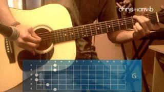 """Cómo tocar """"El Próximo Viernes"""" en guitarra (HD) Tutorial - Christianvib"""