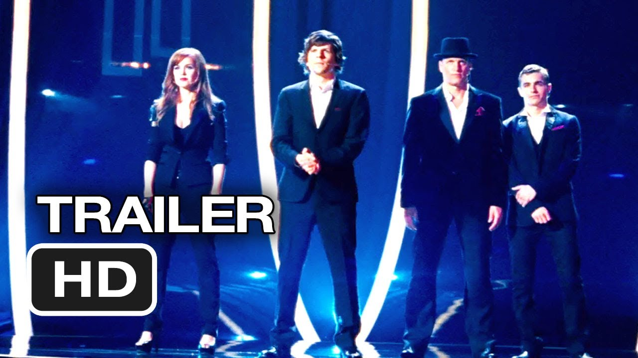 Now You See Me Quotes Custom Now You See Me Trailer 2 2013  Jesse Eisenberg Morgan Freeman
