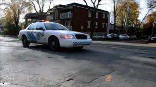MONTREAL STM TRANSIT POLICE RESPONDING