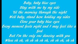 Rocket to the Moon - Baby Blue Eyes Lyrics
