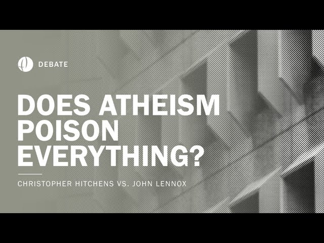 Christopher Hitchens vs. David Berlinski | Does Atheism Poison Everything? Debate