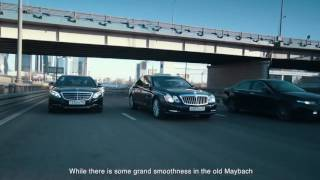 DT Test Drive — Maybach 57S vs New Mercedes Maybach V12
