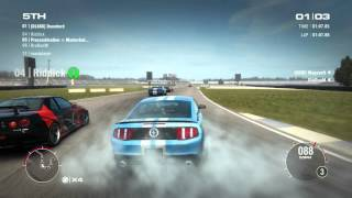 GRID 2 PC Multiplayer Race Gameplay: Tier 2 Upgraded Ford Mustang Boss 302 in Indianapolis