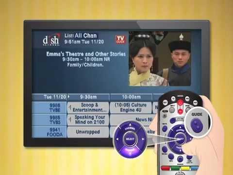 TVB on Dish Remote Guide Take 2