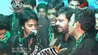 Anjuman e Al Abbas reciting nauha YA HUSSAIN YA MAZLOOM at malkajgiri(2011) in Hyderabad.