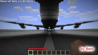 Minecraft Airplane Boeing 747-200