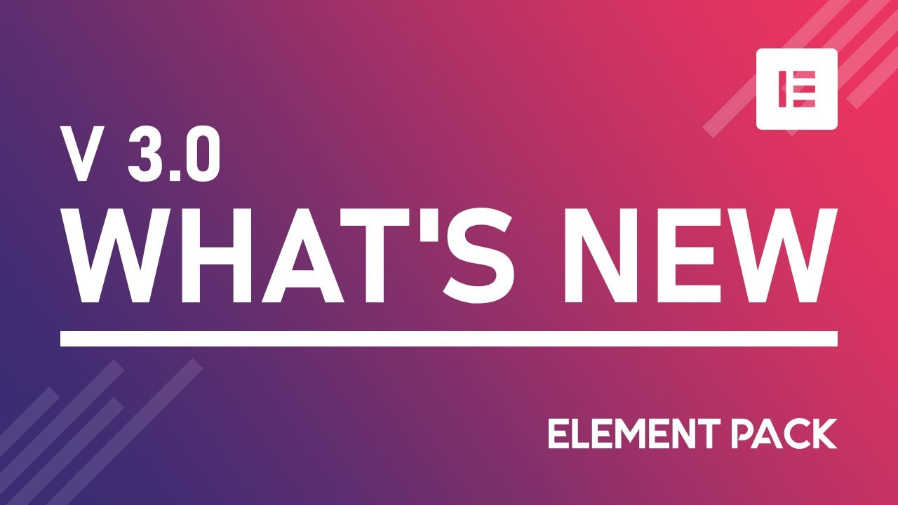 Whats New Element Pack V3 0   %%sitename%
