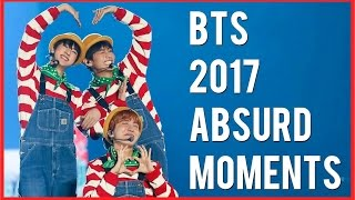 BTS 2017 ABSURD MOMENTS Pt.5 - Try Not to Laugh Challenge!
