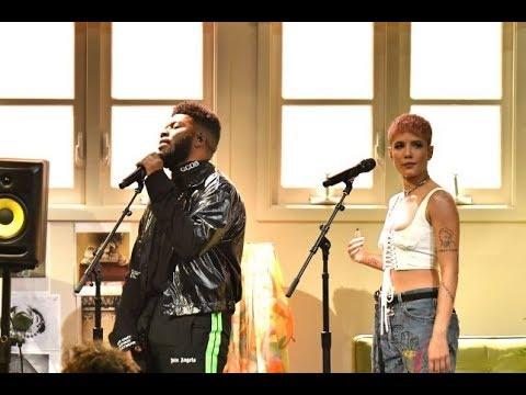 Halsey & Khalid & Benny blanco Eastside (Live AMA'S 2018)