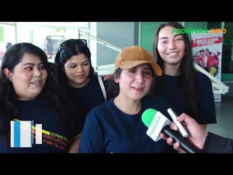 Jóvenes católicos toman las calles de Tijuana