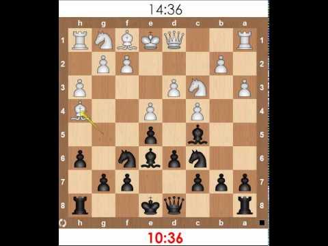 Мат Легаля. Как в шахматах ставить мат легаля
