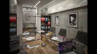 Дизайн проект офиса в БЦ Румянцево от Регины Урм(, 2014-08-26T19:18:10.000Z)