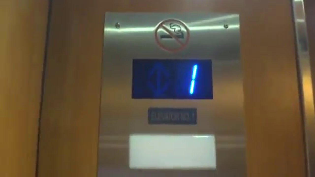 Otis Hydraulic Elevator @ Chase Bank in Palm Beach FL - YouTube