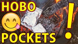 "😋How to Make ""HOBO POCKETS"" - a Great Camping Meal!🍽"