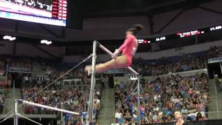 Lauren Hernandez - Uneven Bars - 2016 P&G Gymnastics Championships – Sr. Women Day 1