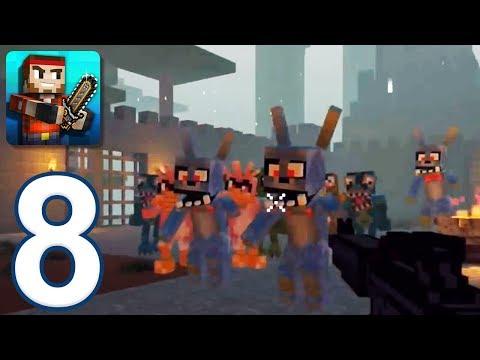 Pixel Gun 3D - Gameplay Walkthrough Part 8 - Arena: Waves 1-10 (iOS, Android)