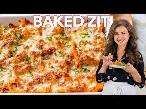 baked ziti  with turkey