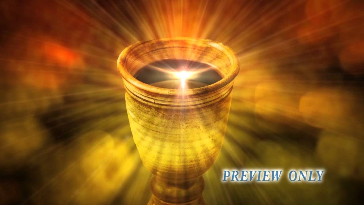 communion cup motion background youtube
