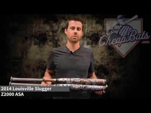 2014 Louisville Slugger Z2000 ASA Slowpitch Softball Bats SBZ214-AB - SBZ214-AE