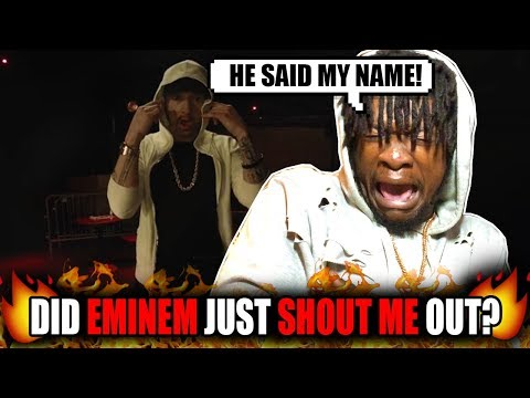 Eminem Shouted Me Out?! | Eminem -  Kick Off  (Freestyle) REACTION!