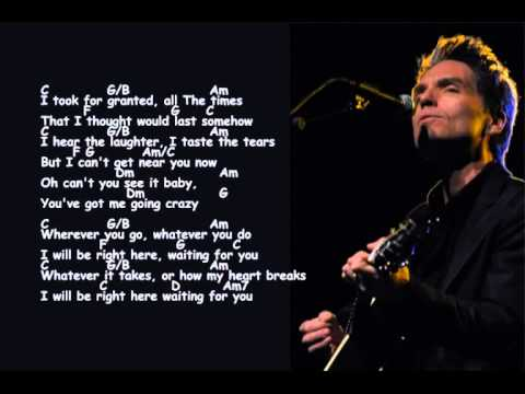 Richard MarxI Will Be Right Here Waiting For You ( Lyrics & Chord )