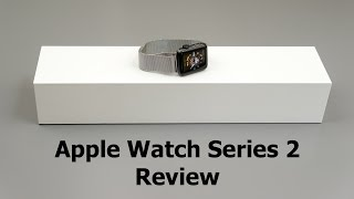 Apple Watch Series 2 Review(Lisa Gade reviews the Apple Watch Series 2, the higher end series in Apple's 2016 smartwatch lineup. It's available in sport aluminum, stainless steel and ..., 2016-09-21T21:30:58.000Z)