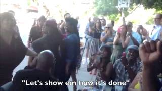 Let The Groove Get In - JT | Surprise FLASH MOB: G
