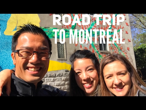 Our Road Trip to Montréal (Day 1)