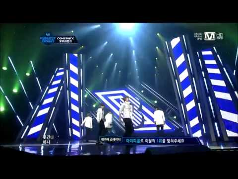 HD 111013 Boyfriend Don't touch my girl Comeback Stage!