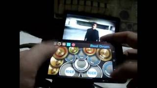 Shawn Mendes - Stitches (Johnny Orlando Cover and Real Drum App Cover by Raymund)