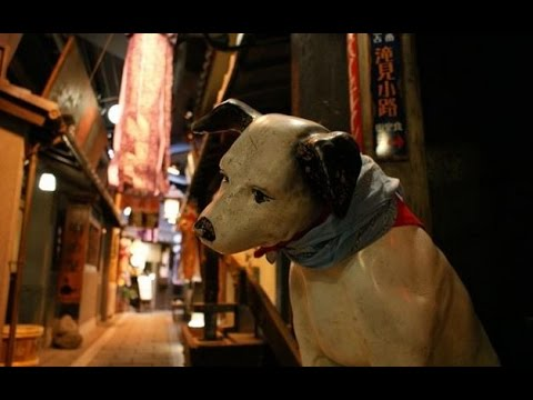 Walking Guide in Japan 6: Restaurants at Sky Building basement, Takimi komichi (瀧見小路)