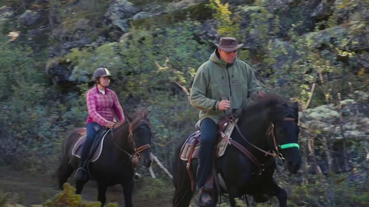 Fjelleventyret- til fjells på hesteryggen