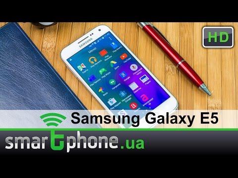 Samsung Galaxy E5 - обзор. Кореец среднего дивизиона