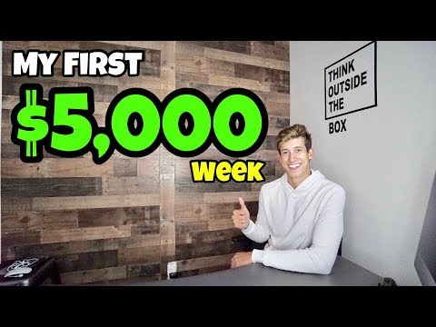 How I Made +$5,000 Profit In 1 Week