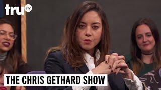 The Chris Gethard Show - Aubrey Plaza's Steve Jobs Ghost Encounter | truTV